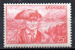 420/ Andorre  : N° 116 Neuf XX , Cote : 6,70 € , Disperse Belle Collection !