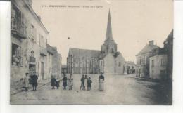 211. Bazouges, Place De L'église - France