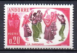 420/ Andorre  : N° 166 Neuf XX , Cote : 5,50 € , Disperse Belle Collection !