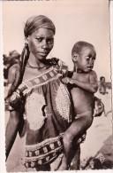 CP Photo  Brazaville Femme Et Enfant Balali - Afrique Du Sud