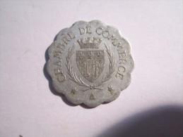 -------1 JETON 25-Centimes--1920--CHAMBRE De COMMERCE--NARBONNE--- - Monétaires / De Nécessité
