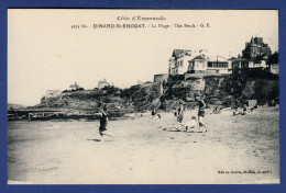 35 DINARD Saint-Enogat La Plage - Animée - Dinard