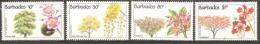 Barbados 1992 SG 975-8  Unmounted Mint. - Barbados (1966-...)