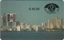*CUBA* - Scheda A Chip Usata - Cuba