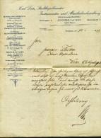 Telegramm  Von  Carl Lutz, Stadtkapellmeister - Alte Papiere