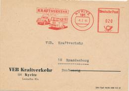 KYRITZ - 1966 , VEB Kraftverkehr - Autos
