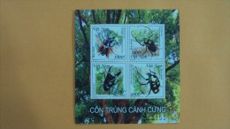 Vietnam Viet Nam MNH Sheetlet : Insects / Insect / Bug (Ms1060) - Issued On 20 Oct 2015 - Vietnam