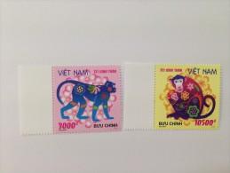 Vietnam Viet Nam MNH Perf Stamps 2015 : Greeting New Year Of Monkey 2016 (Ms1061) - Vietnam