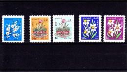 1964-1965 - IRAN - */**  MLH/MNH - FLOWERS - BLUMEN - Mi 1209, 1244/5, 1301/2 - Iran