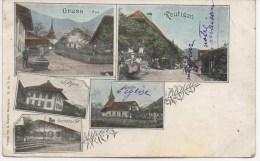 GRUSS AUS REUTIGEN    EN 1909 - BE Berne
