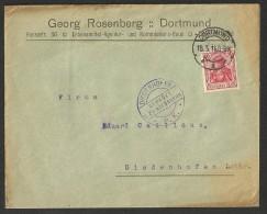 Lettre Commerciale D´Allemagne (Germany) 1916 C A De Dortmund à Diedenhofen (Thionville) - Brieven En Documenten