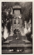 Ancienne Photo Carte Postale Monument Au Morts à Déterminer Guerre WWI - Guerre, Militaire