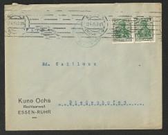 Lettre Commerciale D´Allemagne (Germany) 1915 C A De Essen à Diedenhofen (Thionville) - Brieven En Documenten