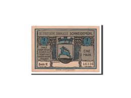 Notgeld, Posen, Schneidemühl, 1 Mark O.D, 46336, Mehl 1191.1b - Bankbiljetten