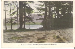 Chocorua Lake and Mountain from the Parting of the Ways, White Mountains, New Hampshire