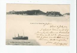 THE NIPPON YUSEN KAISHA S S KASUGA MARU .A PART OF INLAND SEA 1907 - Japan