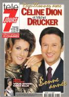 Télé 7 Jours N° 1909 - Semaine Du 28 Déc 1996 Au 3 Jan 1997 - Céline Dion, Inès Sastre, Catherine Falk, Les Pharaons - 1950 - Nu