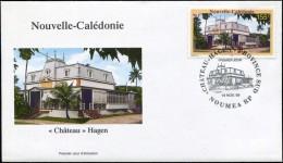 "NOUVELLE CALEDONIE - FDC  ""CHÂTEAU"" HAGEN - Obl. P.J. Nouméa 18 NOV 99 - Nueva Caledonia"