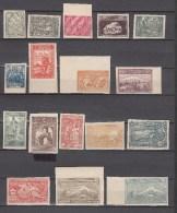 Armenia 1921,17V,full Set,IMPERF, National Symbols,montain Ararat,MNH/Postfris(L2092) - Armenië