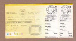 AC - FENERBAHCE Vs YOUNG BOYS DONETSK FOOTBALL SOCCER TICKET 04 AUGUST 2010 - Tickets D'entrée