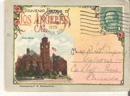 Souvenir Miniature Folder of Los Angeles, California