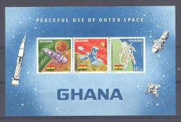 GHANA  Michel #  Block 26  ** - Space