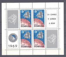 ROMANIA  Michel #  Block 74   **   Apollo XII  6 Stück - Europa