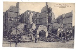 OSTPREUSSEN - JOHANNISBURG / PISZ, Zerstörungen 1.Weltkrieg, Hotel Graf York, 1916, Dt. Feldpost - Ostpreussen