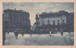 Italia Cartolina Nuova, Genova Piazza Corvetto E Via Roma - Postcards