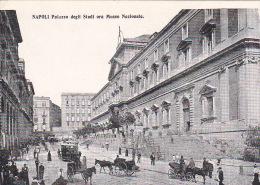 Italia Cartolina Nuova, Napoli Palazzodegli Studi Ora Museo Nazionale - Postcards