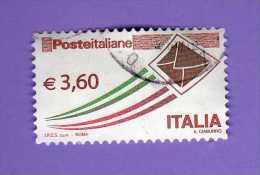 Italia - °Usato -  2013- Posta Italiana -  Busta Che Spicca Il Volo, Unif. 3467. - 2011-...: Oblitérés