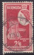 BERMUDA, 1953  2/6d RED USED - Bermuda