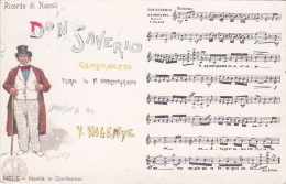 Italia Cartolina Musicale Bideri  Nuova, Don Saverio - World