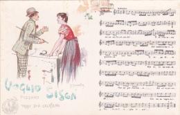 Italia Cartolina Musicale Bideri N 45 Nuova, Voglio Sisca - Postcards