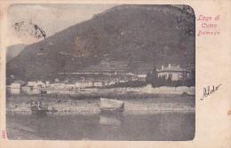 Italia 1904 Cartolina Usata, Lago Di Como Domaso - Postcards