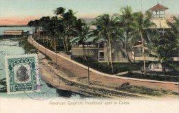 [DC9445] CARTOLINA - PANAMA - AMERICAN QUARTERS HEALTHIEST SPOT IN COLON - Viaggiata - Old Postcard - Panama