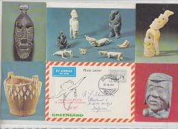 Greenland 1977 Photo Letter Ca 15-8-1977 (F4992) - Brieven En Documenten