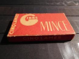 Gibbs - Mince - Paquet Complet De 5 Lames - Rasierklingen