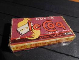 Le Coq - Super - Acier Suédois - Paquet Complet De 5 Lames - Rasierklingen