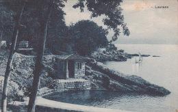 Italia 1925 Cartolina Usata, Laurana, Spedita In Austria - Postcards