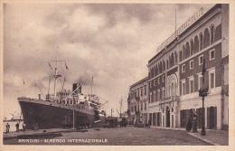 Italia 1946 Cartolina Usata In Luogotenenza, Brindisi Albergo Internazionale - Postcards