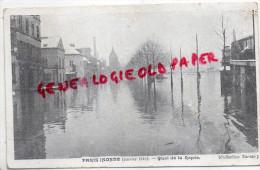 75 - PARIS - INONDATION JANVIER 1910- QUAI DE LA RAPEE - District 12