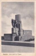 Italia 1946 Cartolina Usata Messina Monumento Ai Caduti - Postcards