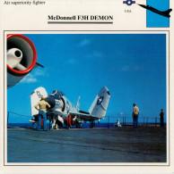 MC DONNELL  F 3 H   DEMON     2 SCAN  (NUOVO CON DESCRIZIONE SUL RETRO) - 1946-....: Moderne