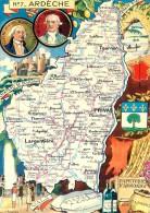 PINCHON - Année 1945 - Département De L'Ardèche (07) - Privas Largentière Tournon Joyeuse Vallon Chomérat Le Cheylard - Francia