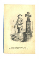 Portrait Du Bienheureux Saint Jugon, Né Et Mort Au Pays De La Gacilly (Morbihan) - Personaggi