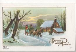 BONNE ANNEE PETITE CARTE - New Year