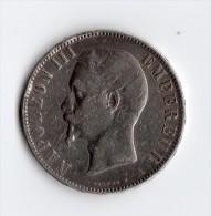 5 Francs 1855 A - France