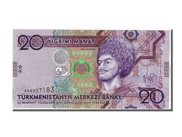 Turkménistan, 20 Manat Type G. Beg - Turkménistan