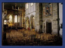 29 SAINT-THEGONNEC Vue D'ensemble De L'intérieur De L'église XVIIIe Et La Vierge Ouvrante - Saint-Thégonnec